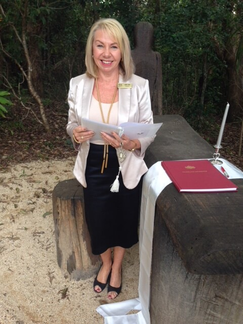 Julie Ash Port Macquarie Marriage Celebrant