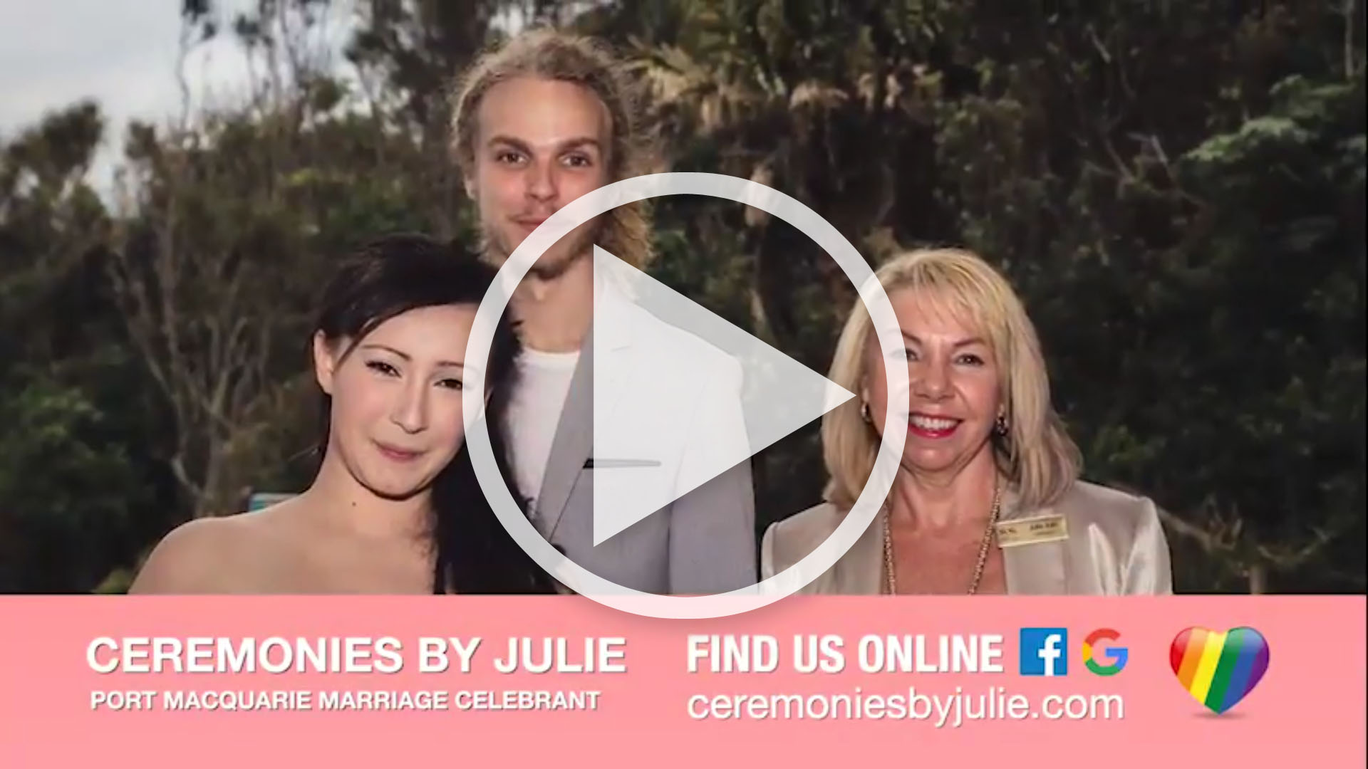 Ceremonies By Julie – TV Spot