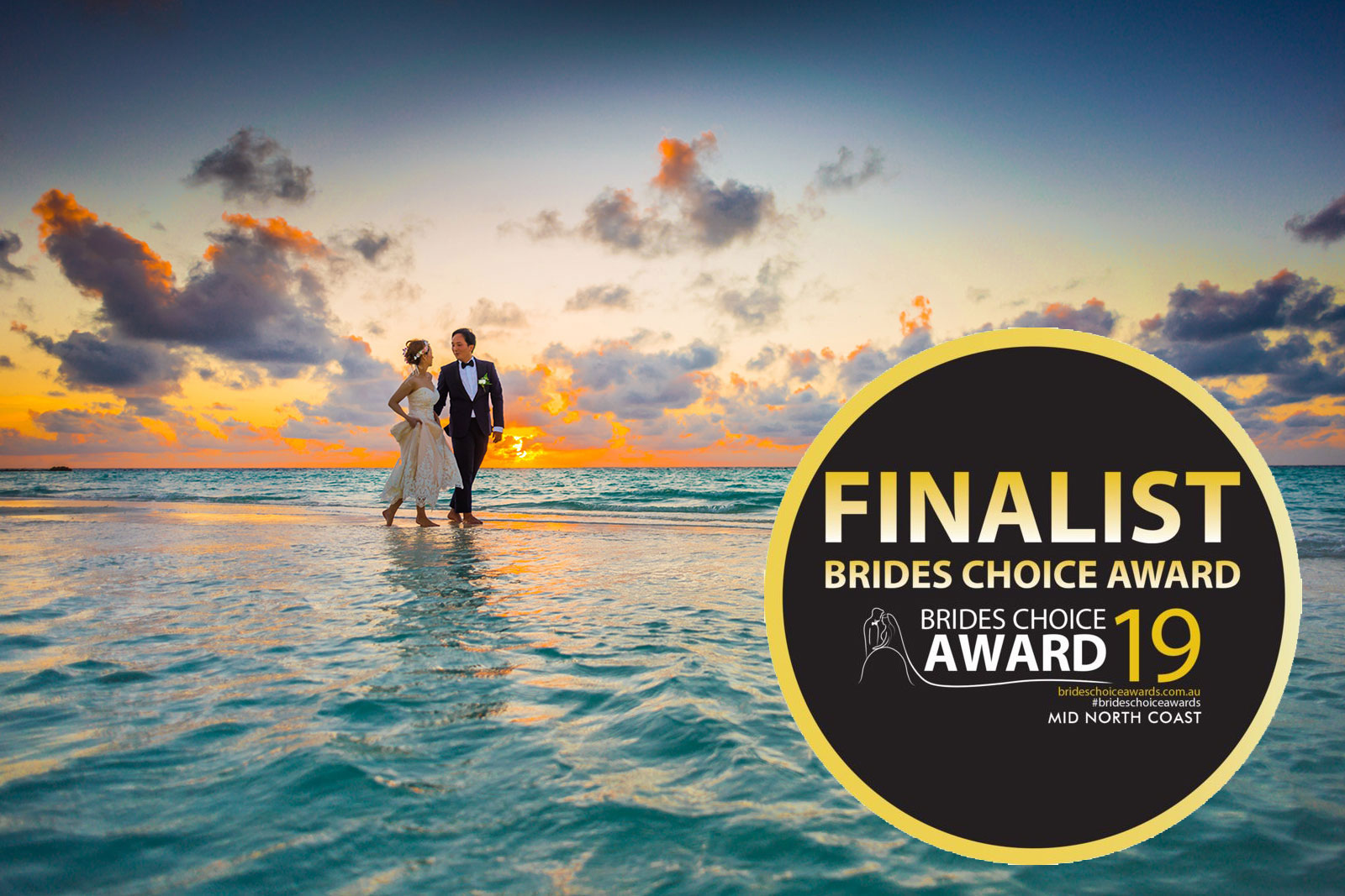 Julie Announced As A Finalist In The 2019 Brides Choice Awards